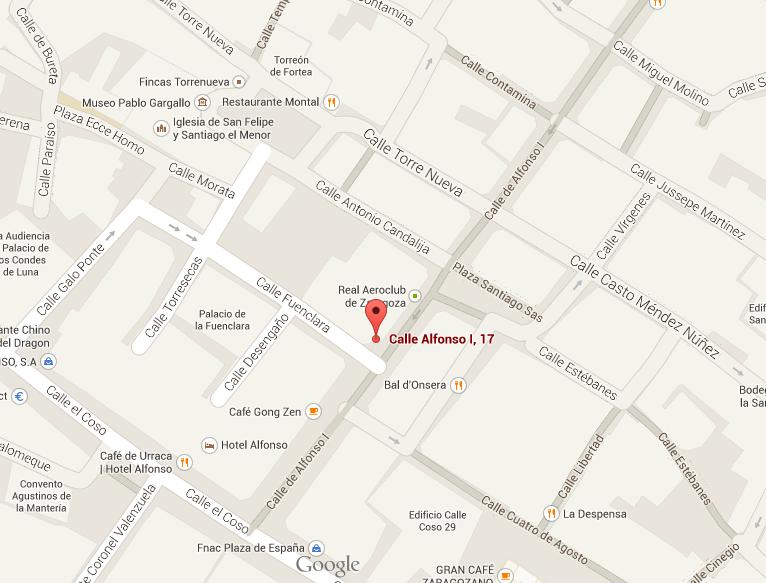 mapa sede Alfonso